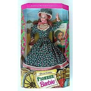Mattel American Stories Barbie Pioneer 1994 фото