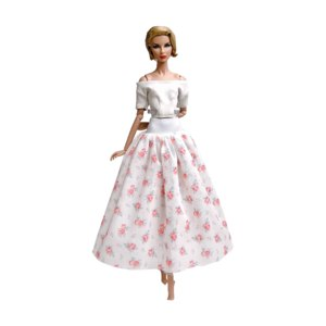 Aliexpress Одежда для куклы. NK 1x Hot Sale Doll Dress Casual Super Model Skirt Fashion Outfit For Barbie Doll Accessories Girls Gifts Kids DIY Toys JJ.  фото