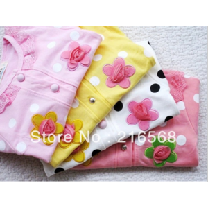 Кофта AliExpress Hot Sweet flower girls long-sleeved coat/contracted girls coat/children clothing/baby clothes  фото