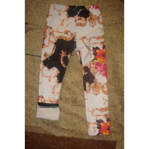 Леггинсы AliExpress Теплые леггинсы Hot sale 2014 winter fashion girls pants leggings, thick warm brand kids pants, designer kids fleece leggings for girls, 2-12Y фото