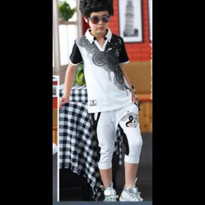 Комплект AliExpress Set AliExpress Free Shipping baby clothes baby summer 2014 men's men a big boy sports clothing set short sleeve set 09/06/13 фото