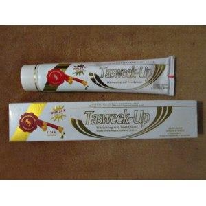Зубная паста Tasweek-Up натуральный экстракт мисвака+отбеливающий агент фото