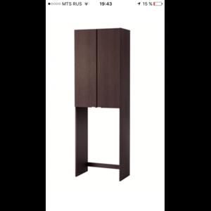Шкаф для стиральной машины Лиллонген Lillangen Ikea Икея фото