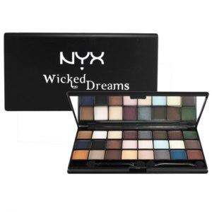 Палетка теней для век NYX Wicked Dreams фото