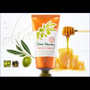 Крем для рук Mizon с медом и оливковым маслом  фото