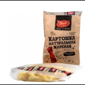 Чипсы БРУТО КРАФТ Картошка жареная черный перец и соль фото