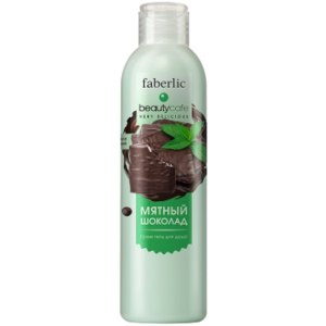Крем-гель для душа Faberlic Мятный шоколад Beauty Cafe фото