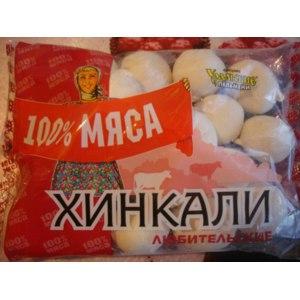 Полуфабрикаты Уральские пельмени Хинкали Любительские 100% мяса фото