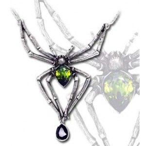 Колье Alchemy Gothic Emerald Venom Necklace P432 фото