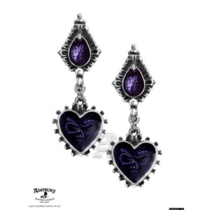 Серьги Alchemy Gothic Mirror Of The Soul Stud Earrings E271 фото
