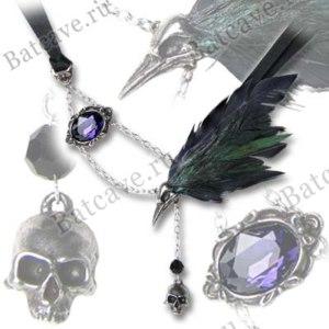 Колье-подвеска Alchemy Gothic The Raven P540 фото