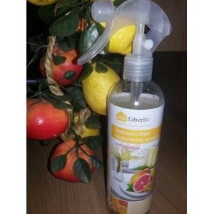 Освежитель воздуха Faberlic Водный спрей с цитрусовым ароматом, артикул 11230 фото