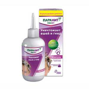 Средство от вшей Omega Pharma Шампунь Паранит фото