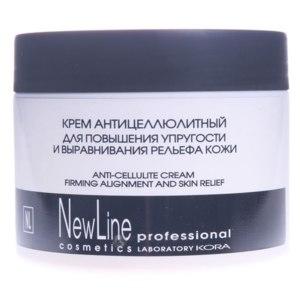Антицеллюлитный крем NewLine professional для повышения упругости и выравнивая рельефа кожи фото