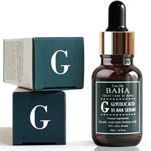 Сыворотка для лица Cos De BAHA Glycolic Serum 10% Gel Peel AHA with Arginine фото