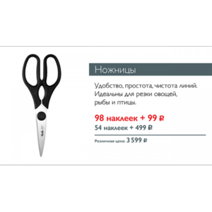 Ножницы кухонные Fissler Pro series X30Cr13 W059W фото