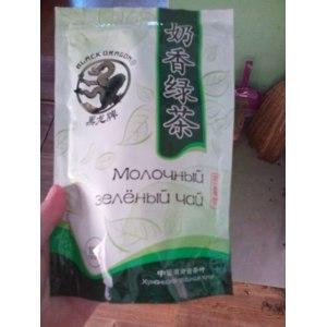 Чай листовой Black Dragon Молочный зелёный чай фото