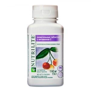 БАД Amway Жевательные таблетки с витамином С фото