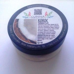 Масло Gunna Рафинированное кокосовое  фото