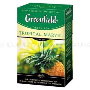 Чай  Гринфилд (Greenfield) Tropical Marvel green tea (рассыпной) фото