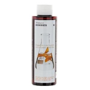 """Шампунь для окрашенных волос Korres  """"Подсолнух и Горный чай"""" (Sunflower & Mountain Tea) фото"""