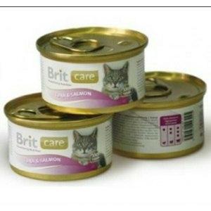 Корм для кошек Brit Care Tuna & Salmon (тунец и лосось) фото