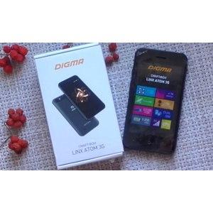 Мобильный телефон Digma  LINX ATOM 3G. фото