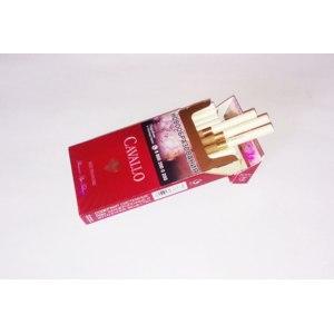 Сигареты CAVALLO Red Diamond Superslim Premium Pipe Tobacco (со вкусом вишни) фото