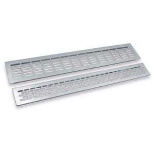 Решетка вентиляционная металлическая накладная Europlast для столешниц и подоконников фото