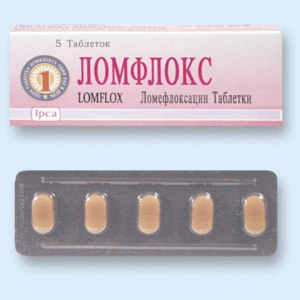"""Антибиотик  Ipca  Антибиотик  """"Ломфлокс"""" фото"""