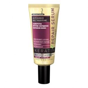 Восстанавливающая сыворотка для секущихся кончиков волос Ciel Parfum «ИНТЕНСИВНОЕ ВОССТАНОВЛЕНИЕ» Keratin фото