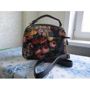 Сумка Aliexpress Fashion vintage 2013 women's handbag portable small cross-body bags small bags oil painting flower mini shoulder bag фото