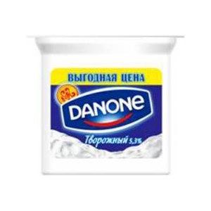 Йогурт Danone Творожный экономный фото