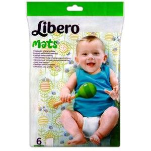 Одноразовые пеленки LIBERO mats фото