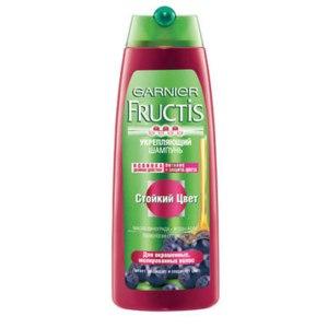 """Шампунь Fructis укрепляющий """"Стойкий цвет"""" фото"""