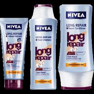 """Бальзам-ополаскиватель NIVEA Long repair """"Роскошь длинных волос"""" фото"""