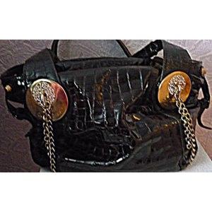 Сумки Carlo Salvatelli Дамская сумка из натуральной лакированной кожи фото