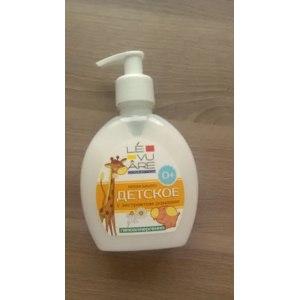 Жидкое мыло  крем  детское LEVUARE фото