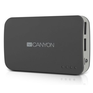 Внешний аккумулятор Canyon CNE-CPB78DG, 7800 мАч фото