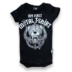 """Боди Six Bunnies """"My first Metal Tshirt"""" фото"""