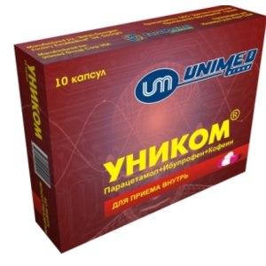 Обезболивающее средство UNIMED Group UNICOM фото