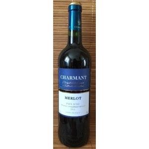 Вино красное полусухое Charmant Merlot фото