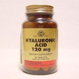 БАД Solgar Vitamin and Herb Солгар гиалуроновая кислота  фото