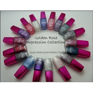 Лак для ногтей Golden Rose Impression Collection  NEW!!!!! фото