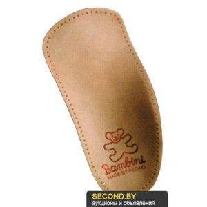 Стельки Bambini Детские ортопедические каркасные полустельки для всех типов обуви с задником фото