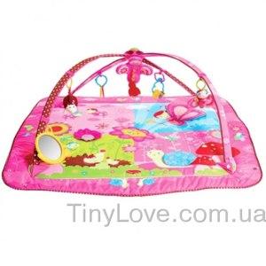 Tiny Love Развивающий коврик Моя принцесса. Розовое сафари 5 в 1 фото