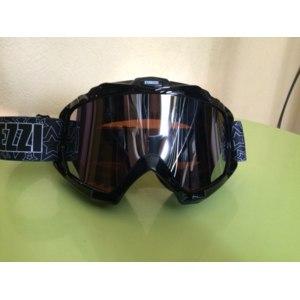 Мотоэкипировка Кроссовые очки STAREZZI MX 156 Black фото