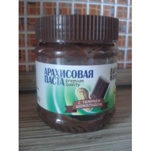 Арахисовая паста Edite bibite с темным шоколадом фото