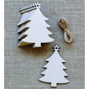 Деревянная заготовка Aliexpress 10pcs Wooden Hanging Plaque Christmas Tree Pendants Party Decor Hanging Ornaments For Christmas Tree Supplies фото