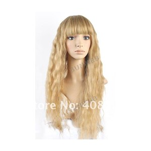 Парик Aliexpress New Stylish Womens Girls Sexy Long Fashion Full Curly Hair Wig Available free shipping фото